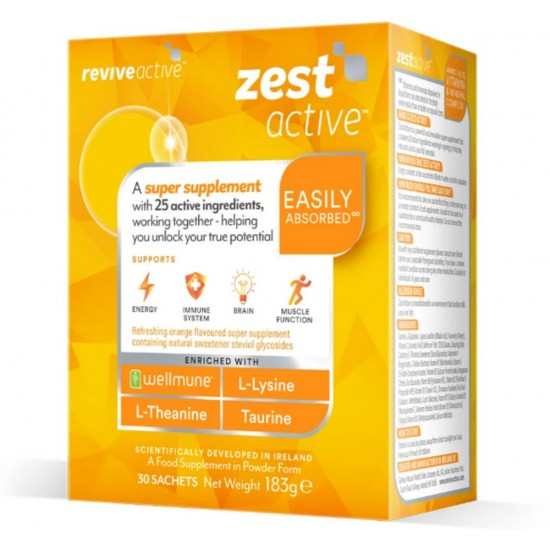 Zest Active 30 day pack